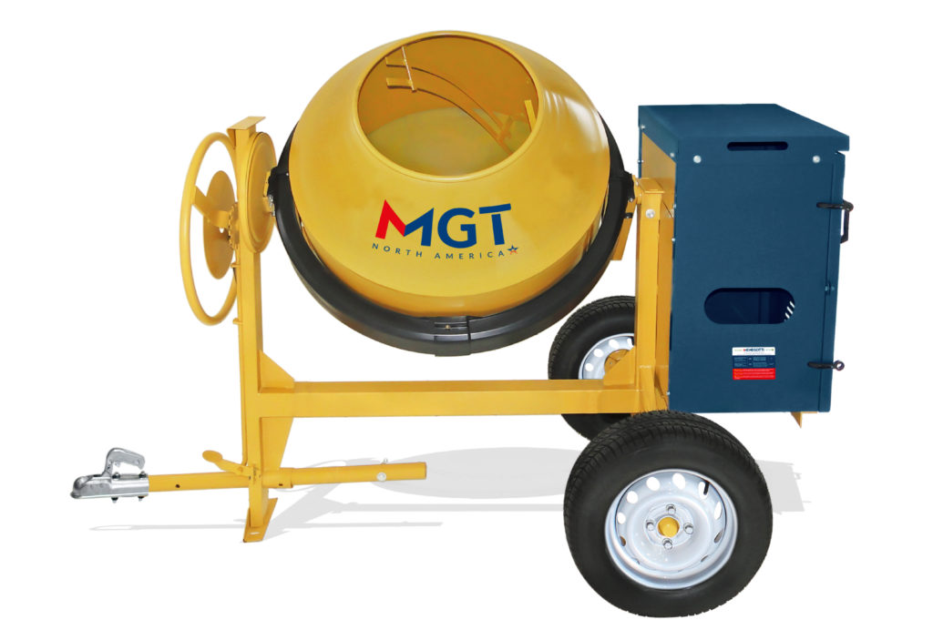 Cement Mixer 11 Cu Ft